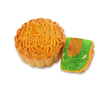 Single Yolk Coconut Mooncake