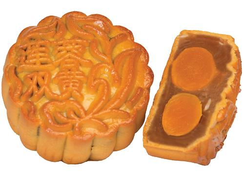 Double Yolks Lotus Mooncake